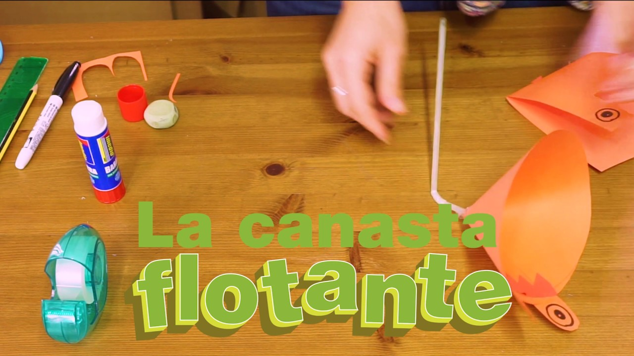 FAMILY FUN TIME: CANASTA FLOTANTE