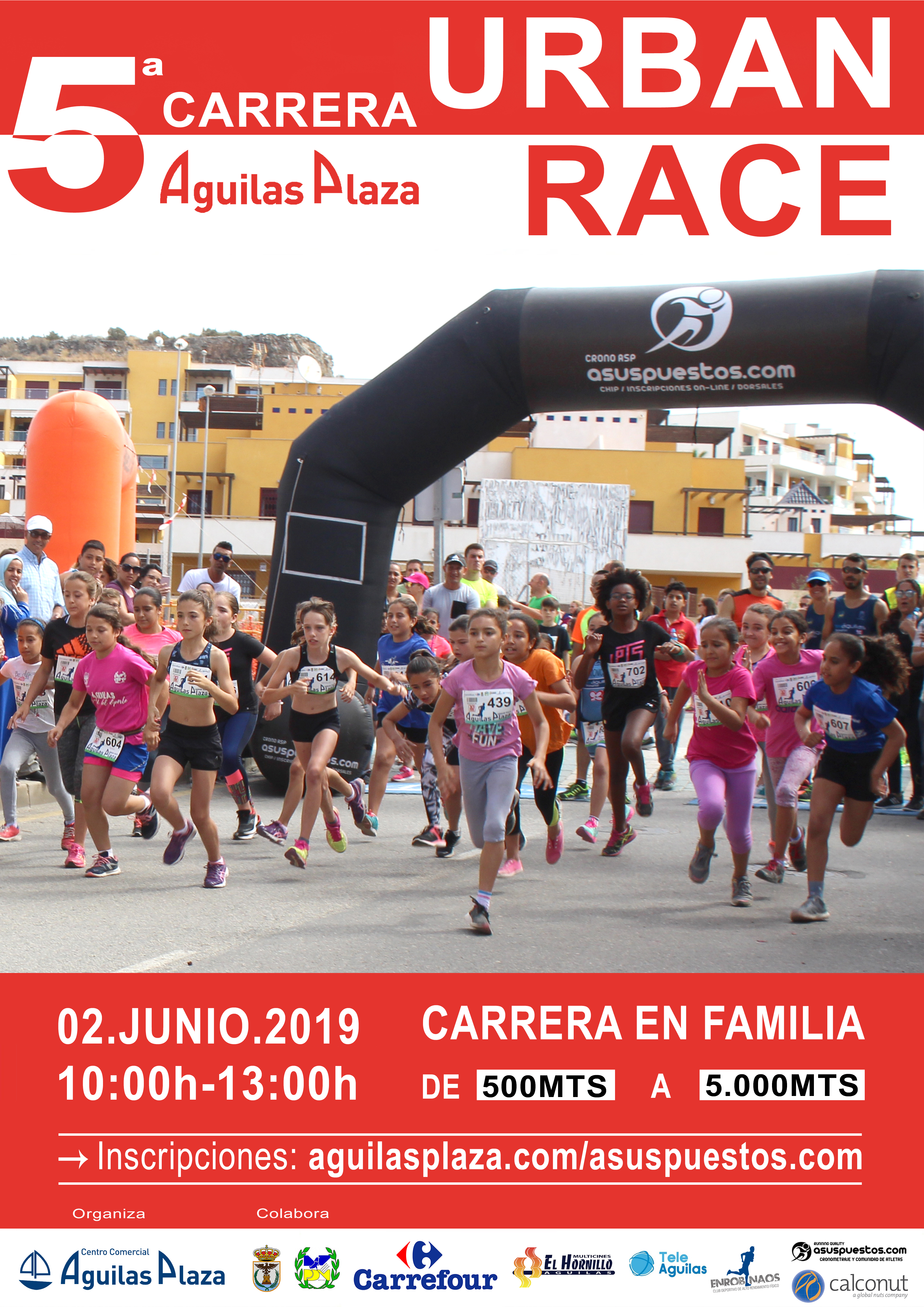 V URBAN RACE AGUILAS PLAZA